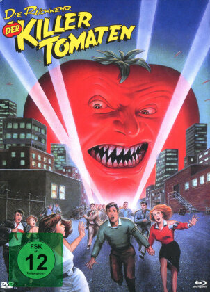 Die Rückkehr der Killertomaten (1988) (Cover C, Limited Edition, Mediabook, Blu-ray + DVD)