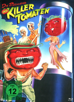 Die Rückkehr der Killertomaten (1988) (Cover B, Limited Edition, Mediabook, Blu-ray + DVD)