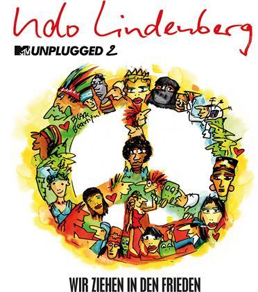 """Udo Lindenberg - Wir Ziehen In Den Frieden (MTV Unplugged 2) (7"""" Single)"""