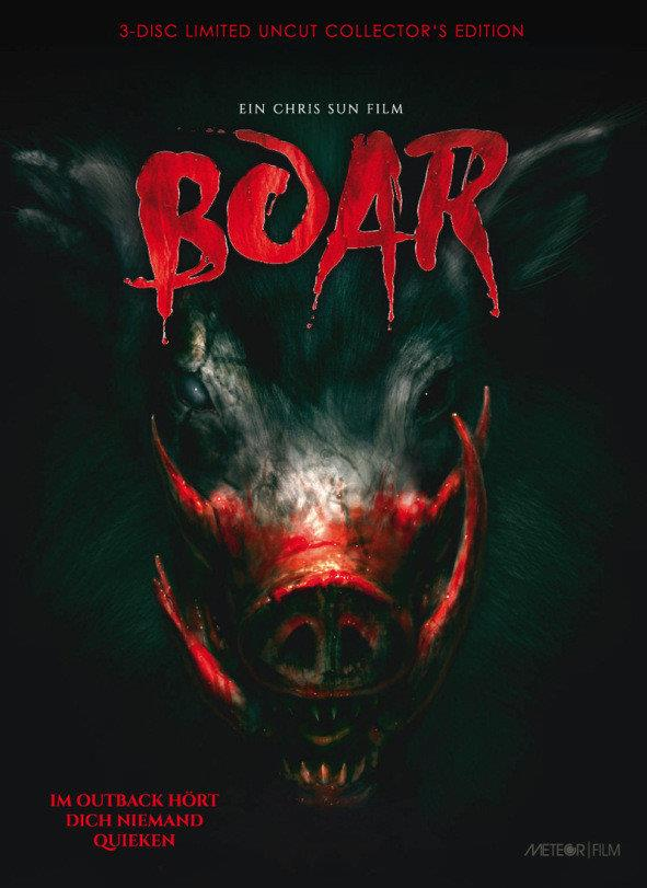 Boar (2017) (Cover D, Collector's Edition, Limited Edition, Mediabook, Uncut, Blu-ray + 2 DVDs)
