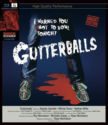 Gutterballs (2008) (Collector's Edition, Uncut, Unrated, Blu-ray + DVD)