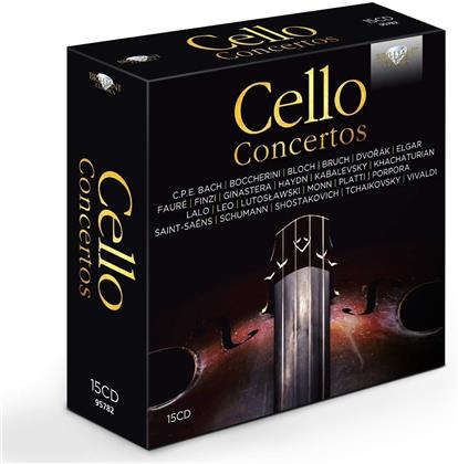 Cello Concertos (15 CDs)