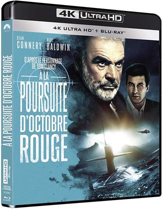 À la poursuite d'octobre rouge (1990) (4K Ultra HD + Blu-ray)