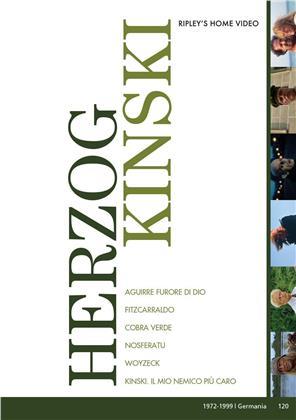 Herzog / Kinski - Aguirre furore di Dio / Fitzcarraldo / Cobra verde / Nosferatu / Woyzeck / Kinski... (6 DVDs)