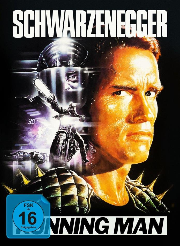 Running Man (1987) (Limited Edition, Mediabook, Uncut, Blu-ray + DVD + CD)