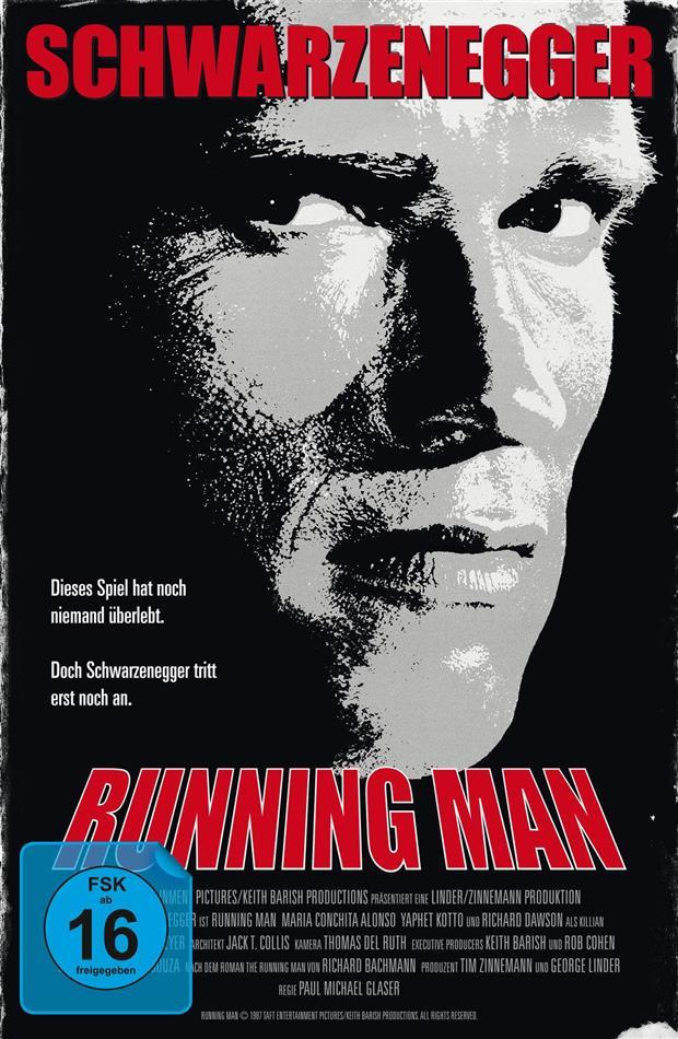 Running Man (1987) (VHS-Edition, Limited Edition, Uncut, 2 Blu-rays)