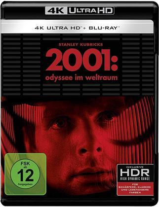 2001: Odyssee im Weltraum (1968) (Repackaged, 4K Ultra HD + Blu-ray)