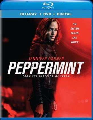 Peppermint (2018) (Blu-ray + DVD)
