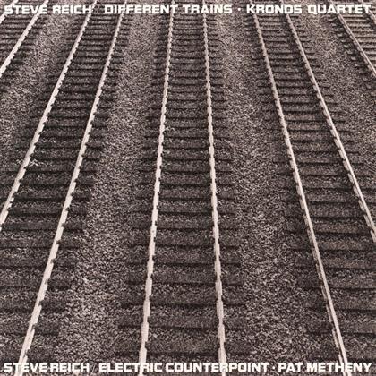Kronos Quartet, Pat Metheny & Steve Reich (*1936) - Different Trains / Electric Counterpoint (LP)