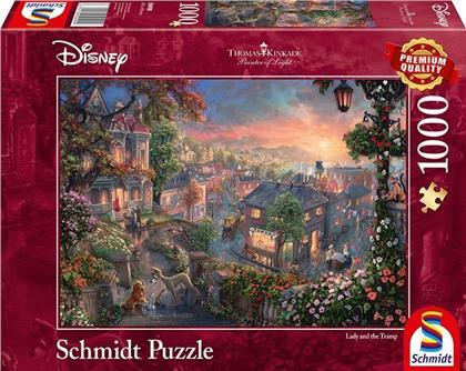 Disney: Susi und Strolch - 1000 Teile Puzzle