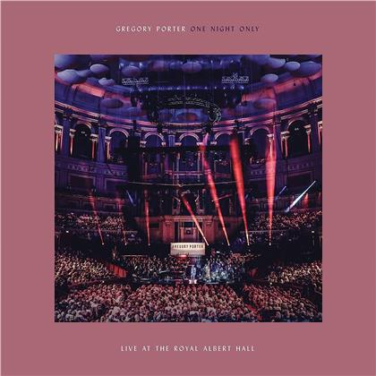 Gregory Porter - One Night Only: Live At The Royal Albert Hall (CD + DVD)