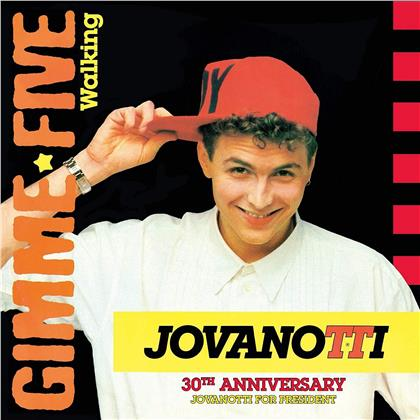"Jovanotti - Gimmi Five - Walking (Blue Vinyl, 7"" Single)"
