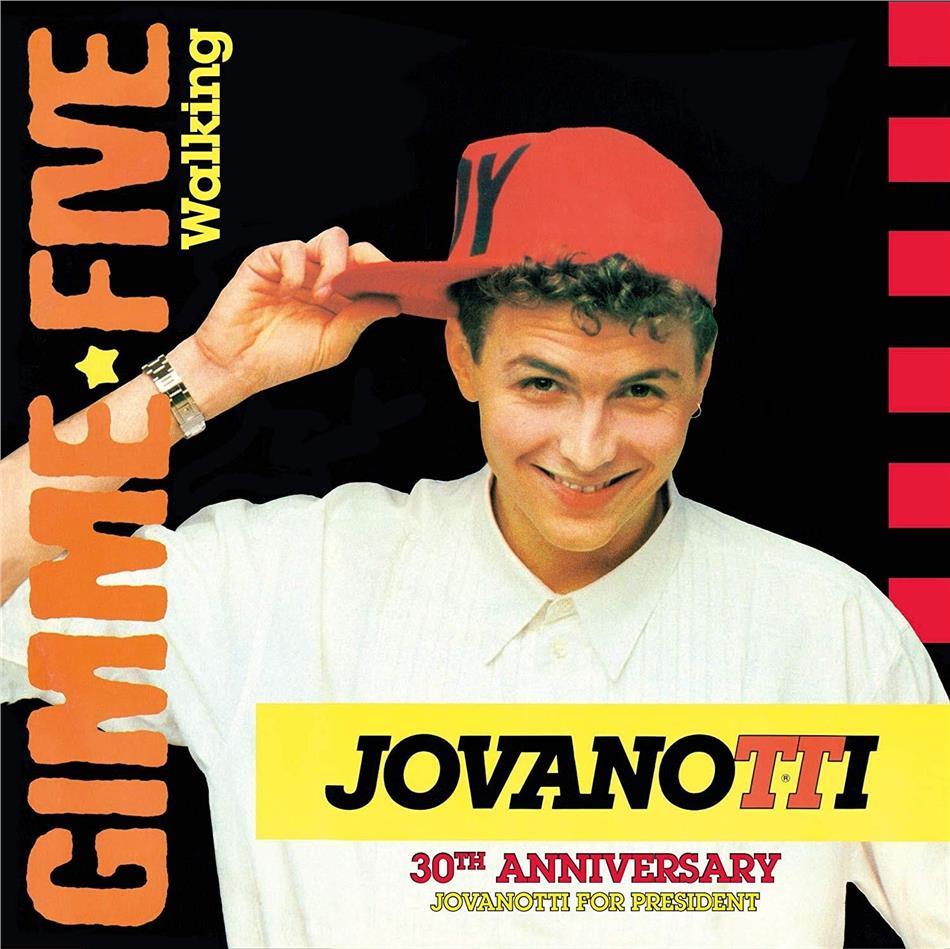 "Jovanotti - Gimmi Five - Walking (Blue Vinyl, 7"" Single)"