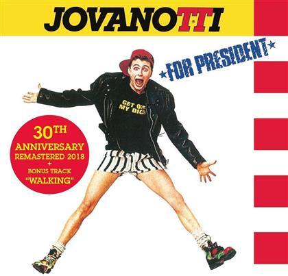 Jovanotti - Jovanotti For President (2018 Reissue, 1 Bonustrack, 30th Anniversary Edition)