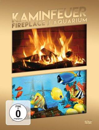 Kaminfeuer & Aquarium