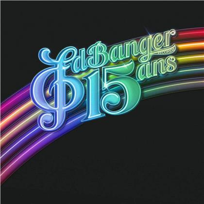 Ed Banger Records 15 Ans (2 LPs + CD)