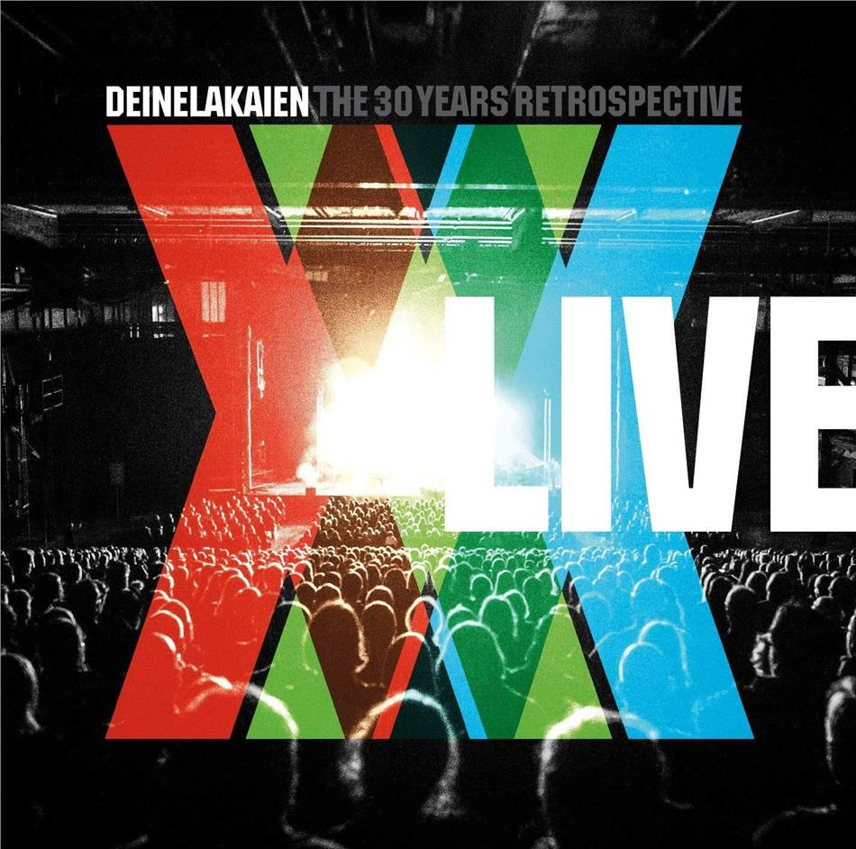 Deine Lakaien - 30 Years Retrospective Live (CD + DVD)