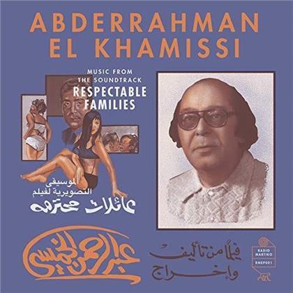 Abderrahman El Khamissi - Music From The Soundtrack - Respectable Families - OST (LP)