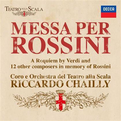 Riccardo Chailly, Gioacchino Rossini & Giuseppe Verdi (1813-1901) - Messa Per Rossini (2 CDs)