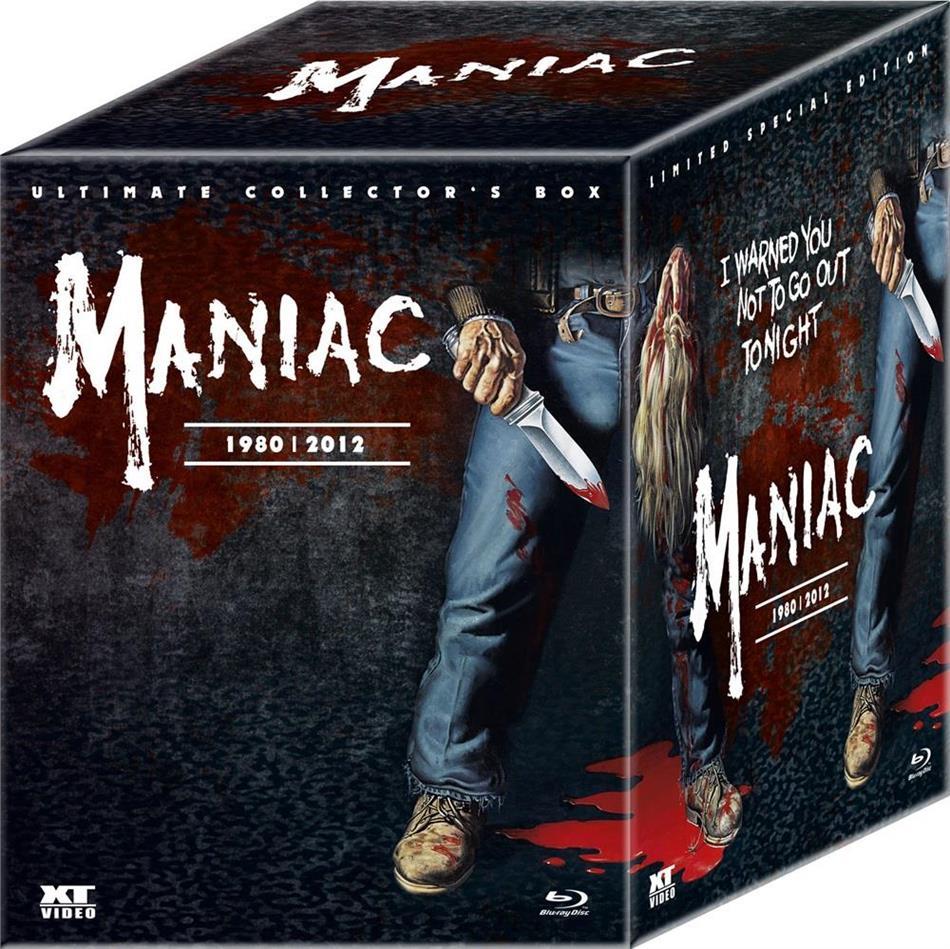 Maniac (1980) / Maniac (2012) (mit Büste, Collector's Edition, Limited Edition, Mediabook, Special Edition, Ultimate Edition, 2 Blu-rays + DVD + 2 CDs)