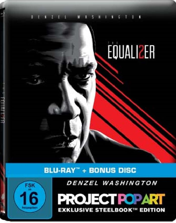 The Equalizer 2 (2018) (Limited Edition, Steelbook)