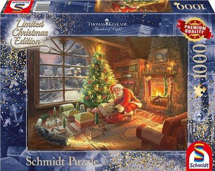 Der Weihnachtsmann ist da! - 1000 Teile Puzzle (Limited Christmas Edition)