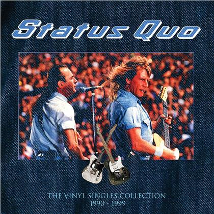 "Status Quo - Vinyl Singles Collection 1990 - 1999 (Limited Edition, 16 7"" Singles)"