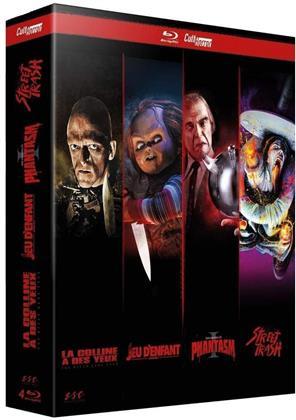 Cult'Horror - La colline a des yeux / Chucky - Jeu d'enfant / Phantasm / Street Trash (4 Blu-ray)