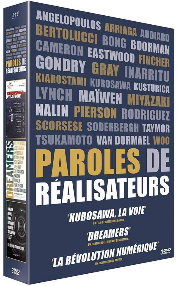 Paroles de réalisateurs (3 DVDs)