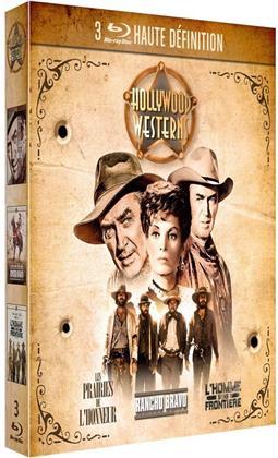 Hollywood Westerns - Les prairies de l'honneur / Rancho Bravo / L'homme sans frontière (3 DVDs)