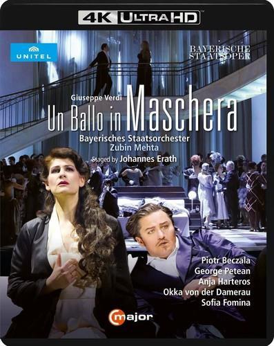 Bayerisches Staatsorchester, Zubin Mehta, … - Verdi - Un Ballo In Maschera (C Major, Unitel Classica)