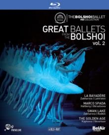 Bolshoi Ballet & Orchestra - Great Ballets from the Bolshoi - Vol. 2 (Bel Air Classique, 4 Blu-rays)