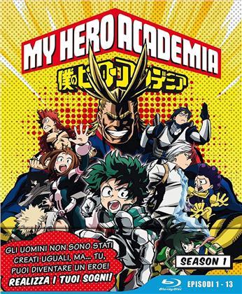 My Hero Academia - Stagione 1 (Edizione Limitata, 3 Blu-ray)