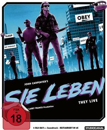 Sie leben (1988) (Soundtrack Edition, Edizione Limitata, 2 Blu-ray + CD)