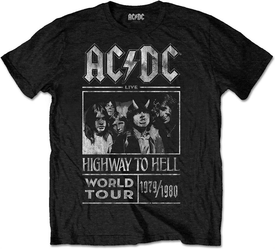 AC/DC - Highway To Hell World Tour 1979/80 - Grösse M