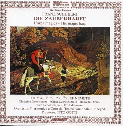 Thomas Moser, Jozsef Nemeth, Franz Schubert (1797-1828), Tito Gotti & Orchestra Filarmonica Del Teatro Nazionale Di Szeged - Die Zauberharfe