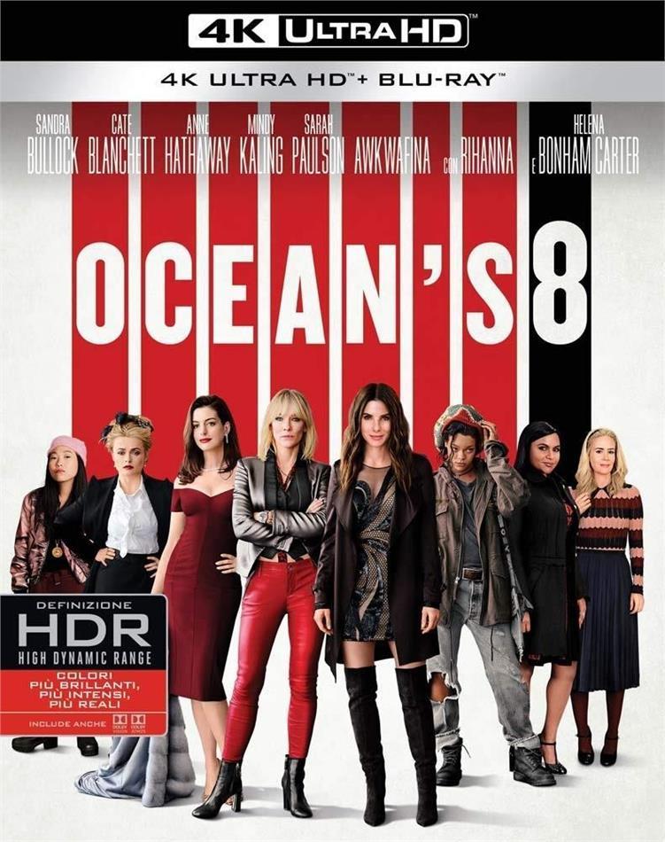 Ocean's 8 (2018) (4K Ultra HD + Blu-ray)