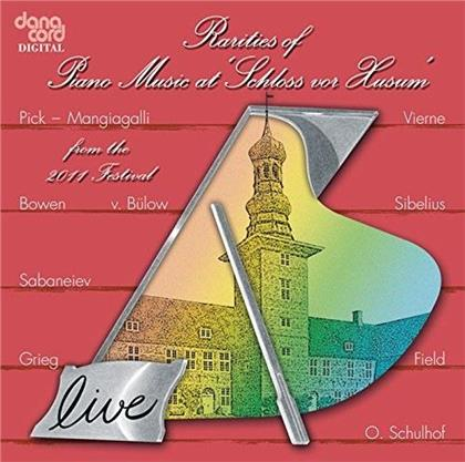"""Rarities Of Piano Music At """"Schloss Vor Husum"""" - Live 2011"""
