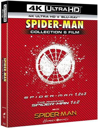 Spider-Man - Collection 6 Film (6 4K Ultra HDs + 6 Blu-ray)