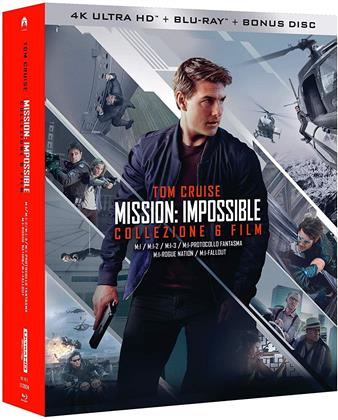 Mission Impossible 1-6 (6 4K Ultra HDs + 7 Blu-ray)
