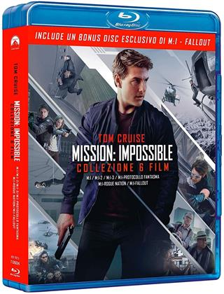 Mission Impossible 1-6 (7 Blu-ray)