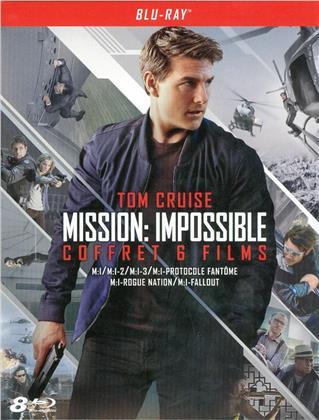 Mission: Impossible 1-6 - Coffret 6 films (8 Blu-ray)