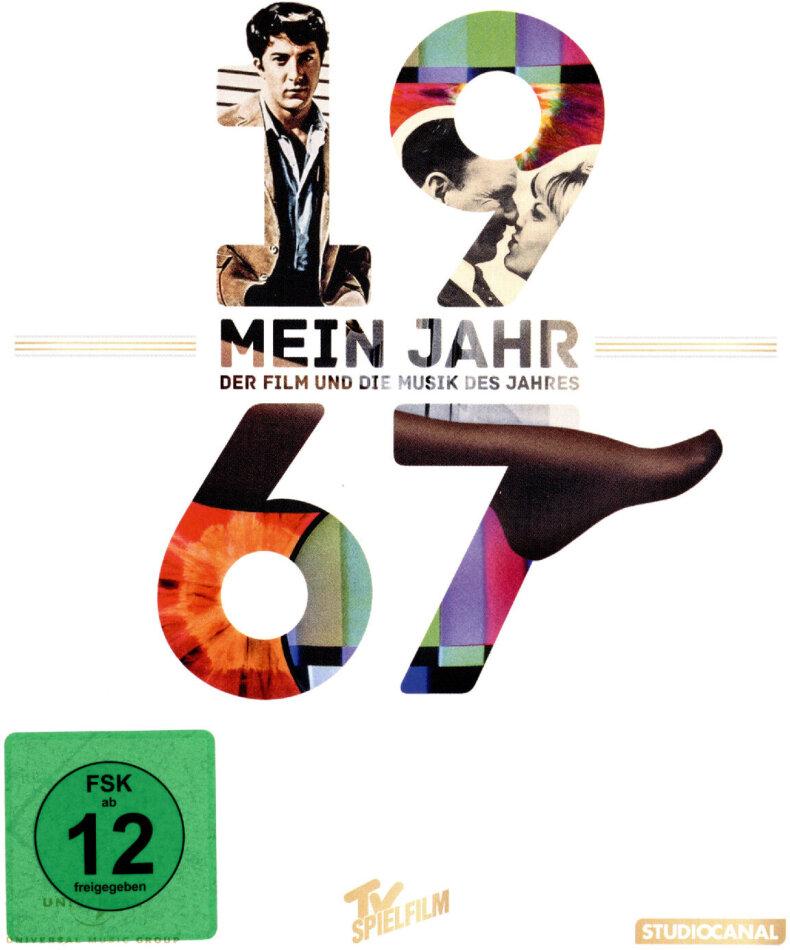 Die Reifeprüfung - Mein Jahr 1967 - Der Film und die Musik des Jahres (1967) (DVD + CD)