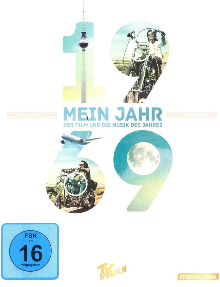 Easy Rider - Mein Jahr 1969 - Der Film und die Musik des Jahres (1969) (DVD + CD)