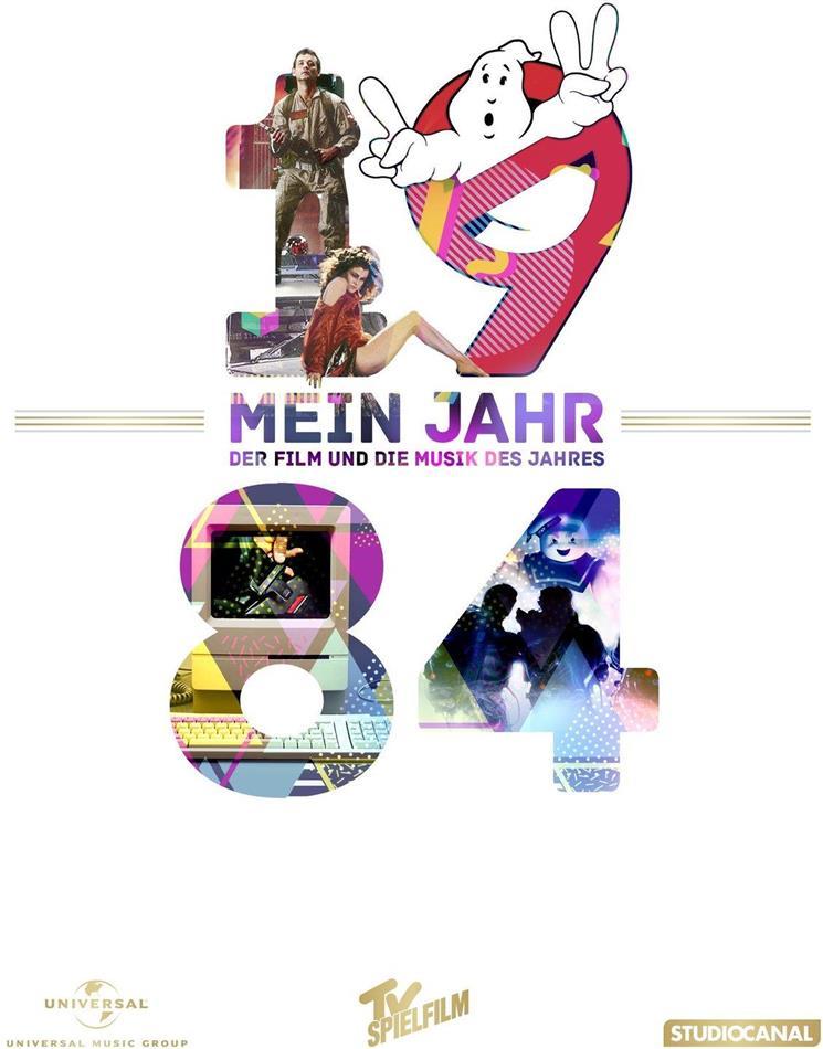 Ghostbusters - Mein Jahr 1984 - Der Film und die Musik des Jahres (1984) (DVD + CD)