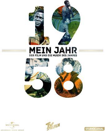 Flucht in Ketten - Mein Jahr 1958 - Der Film und die Musik des Jahres (1958) (DVD + CD)