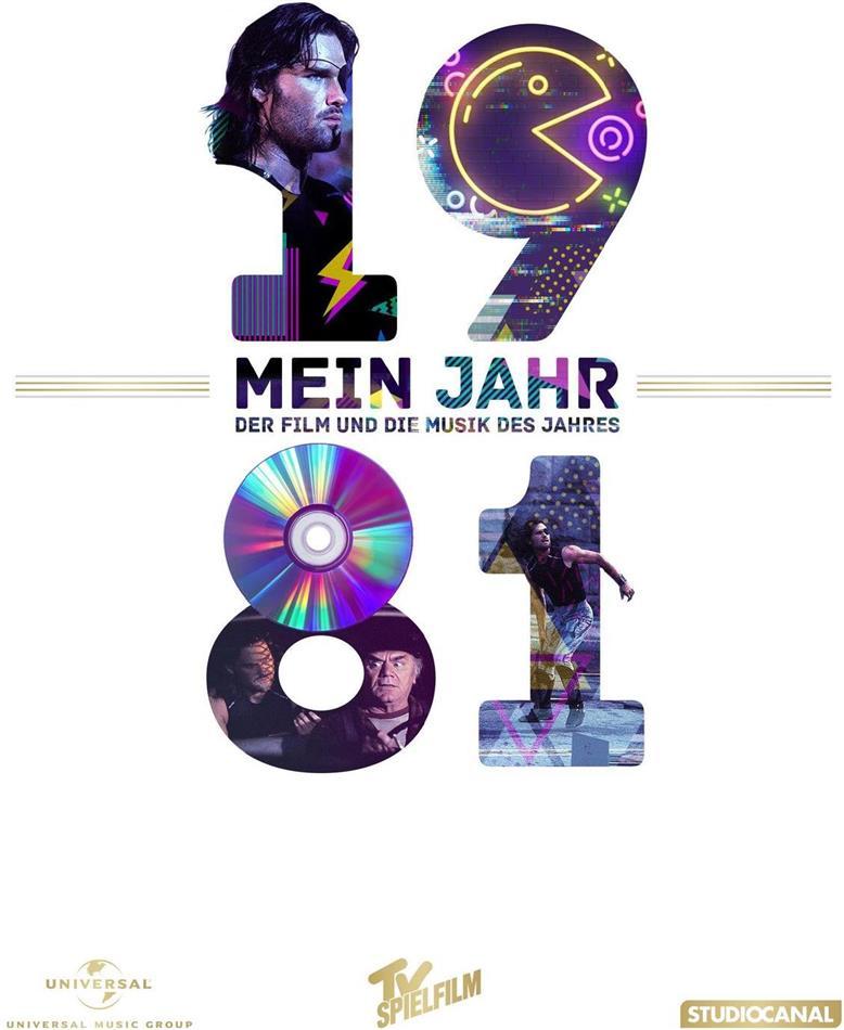 Die Klapperschlange - Mein Jahr 1981 - Der Film und die Musik des Jahres (1981) (DVD + CD)