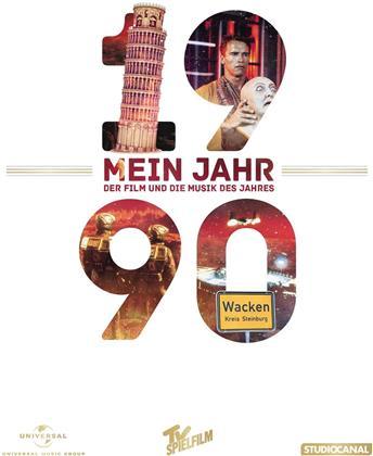 Total Recall - Mein Jahr 1990 - Der Film und die Musik des Jahres (1990) (DVD + CD)