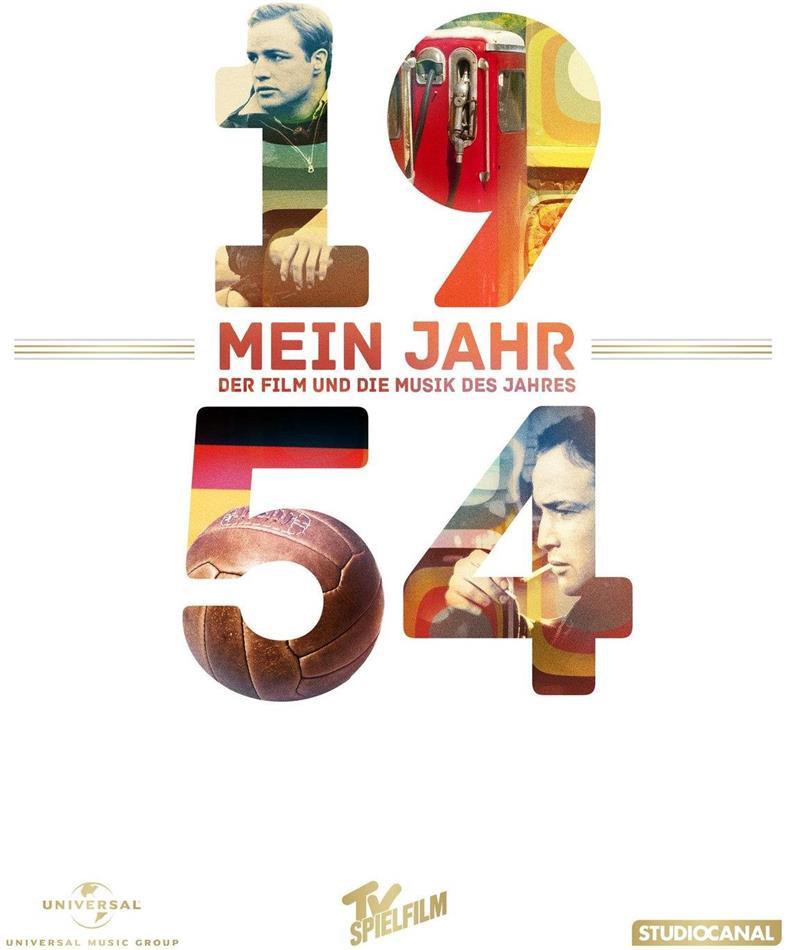 Die Faust im Nacken - Mein Jahr 1954 - Der Film und die Musik des Jahres (1954) (DVD + CD)