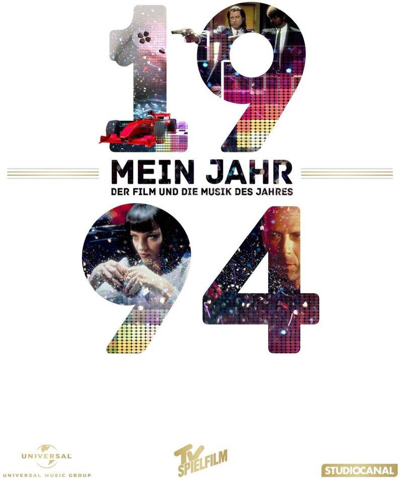 Pulp Fiction - Mein Jahr 1994 - Der Film und die Musik des Jahres (1994) (DVD + CD)